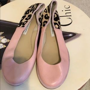 Pink and Leopard flat